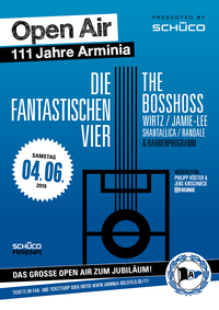 Poster Open Air Konzert