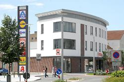 Neues Einkaufszentrum